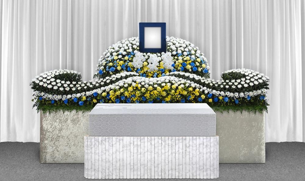 練馬区の葬儀社 小澤葬祭:生花祭壇2号