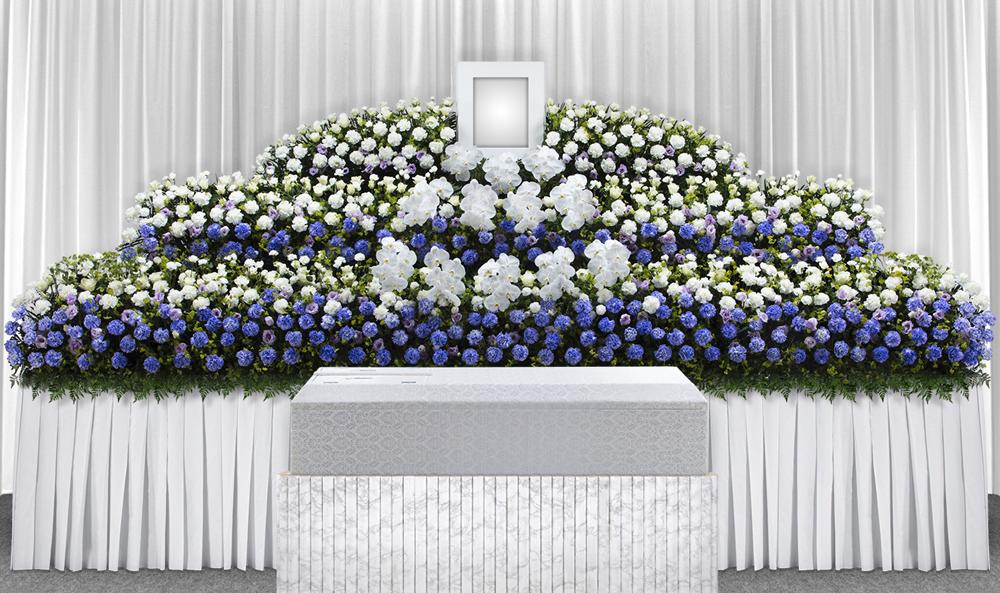 練馬区の葬儀社 小澤葬祭:生花祭壇3号